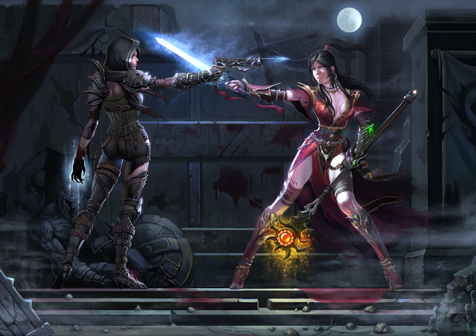 Female armor, Diablo 3 and Mary sue on Pinterest
