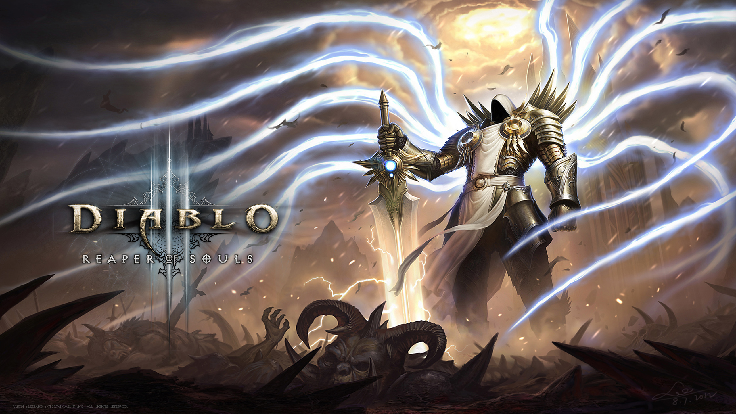 diablo wallpaper 2560x1440 - photo #13