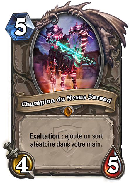 Champion du Nexus Saraad