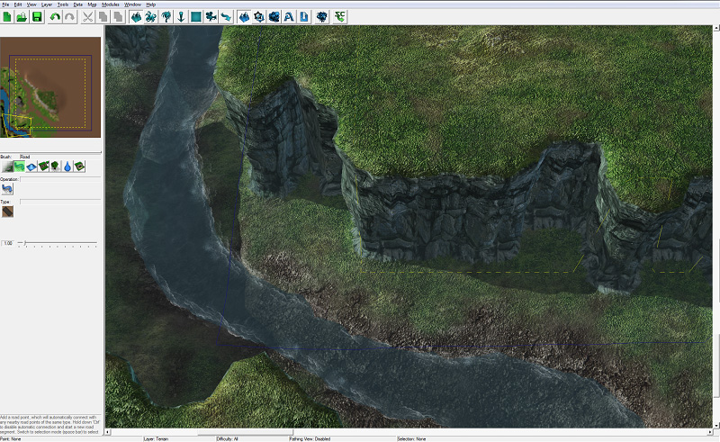 Page Game StarCraft II - Us map terrain