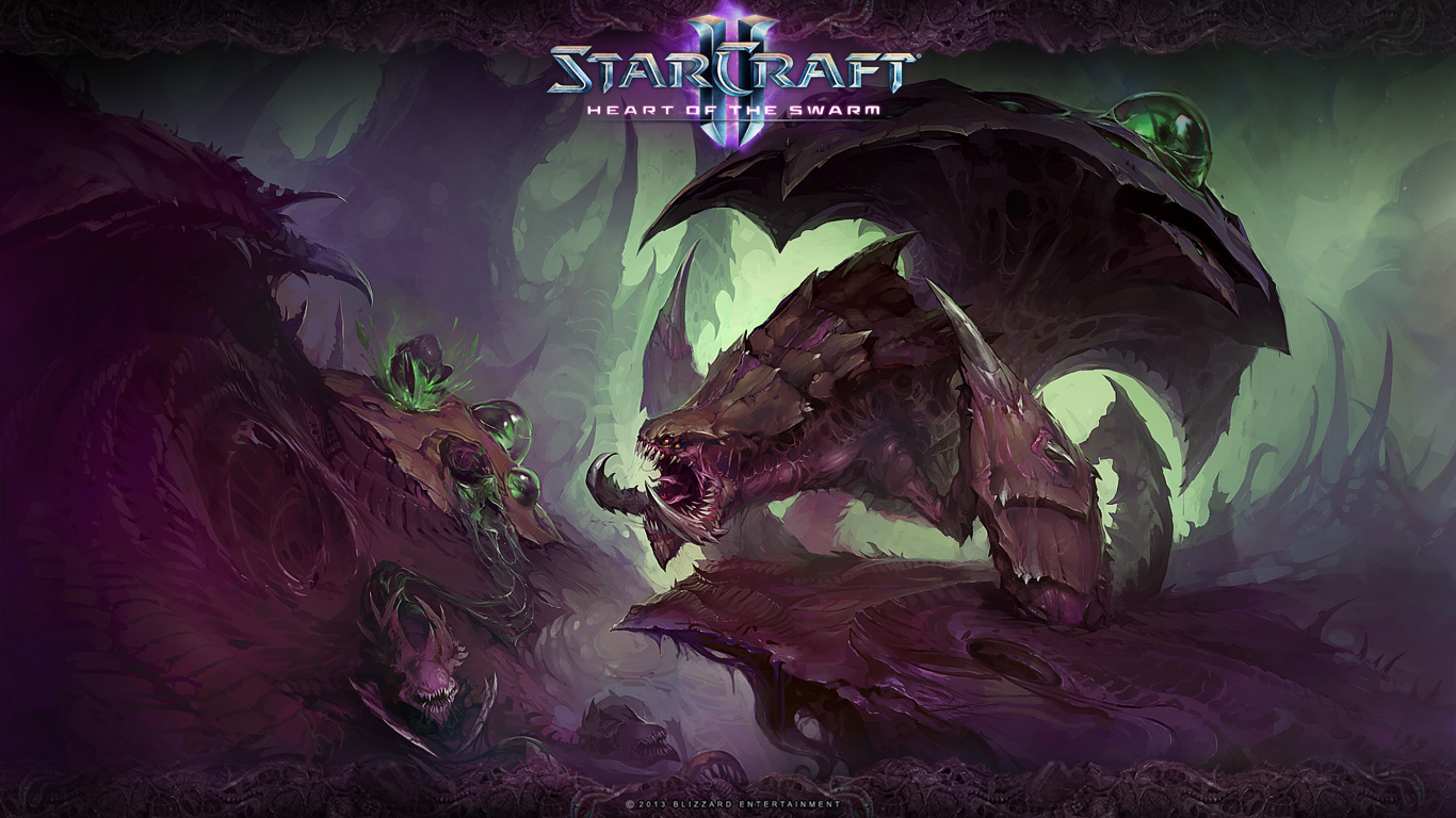Starcraft 2 Heart Of The Swarm Hd Wallpapers Wallpapers Nature