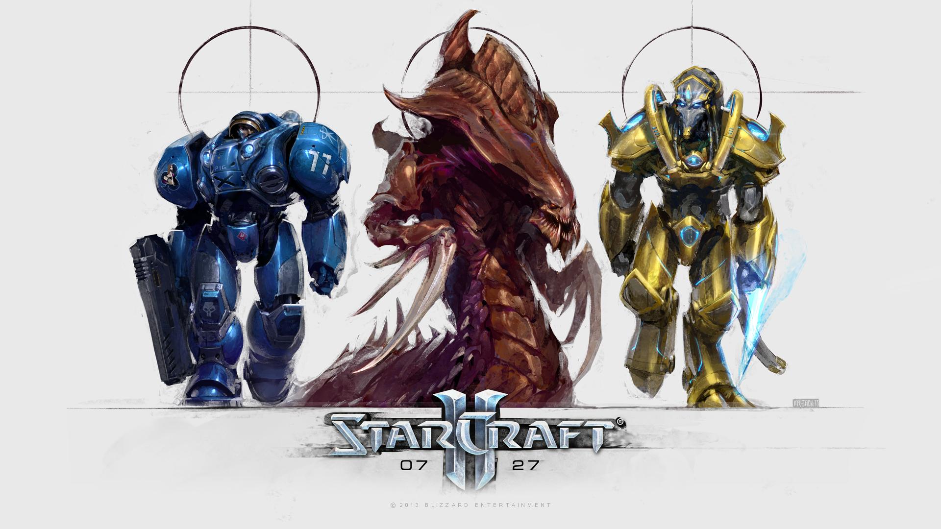 Starcraft Heart Of The Swarm Tapety na komputer tła pulpitu