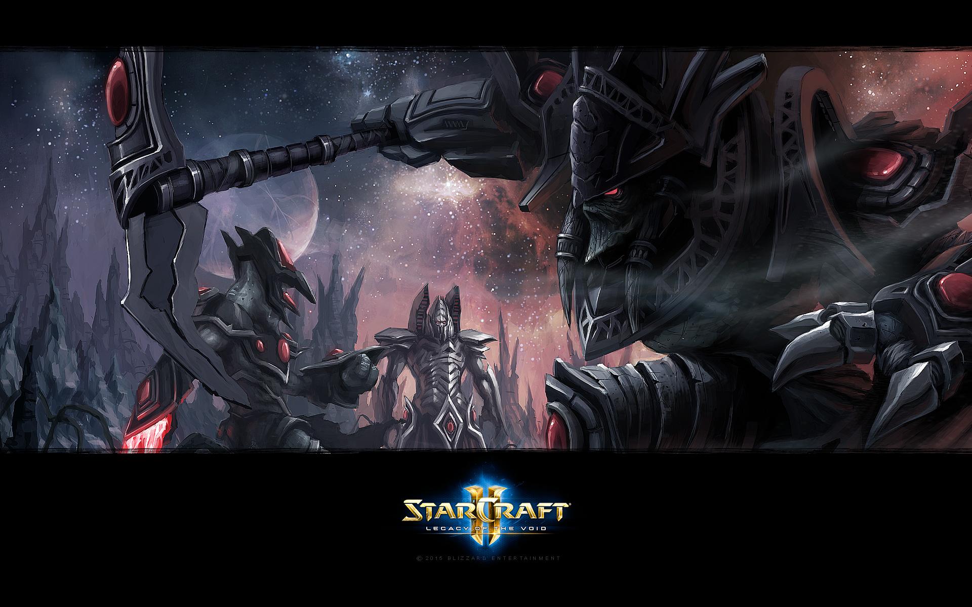 Wallpapers Media StarCraft II