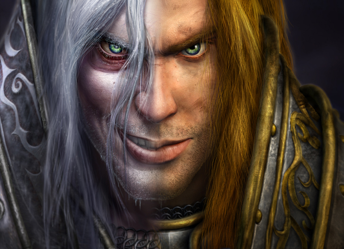 Image result for warcraft iii arthas