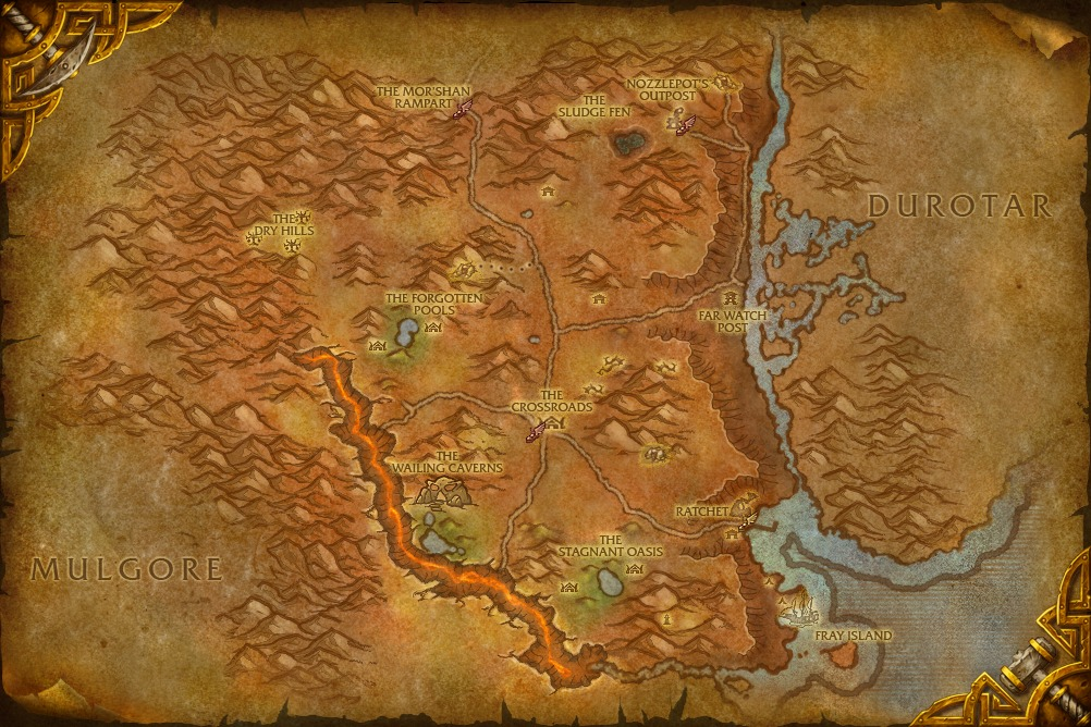 A brief history of fantastic maps warcraft gumiabroncs Gallery