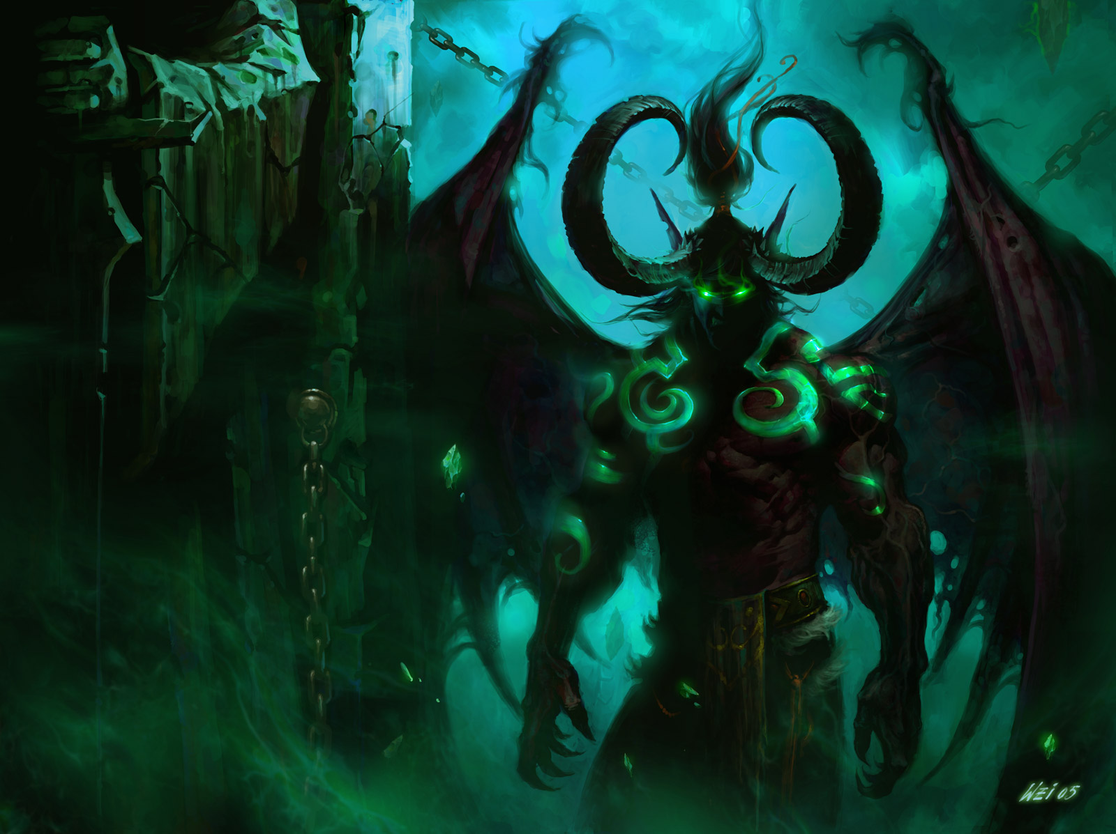 WoW Illidan - Bing images