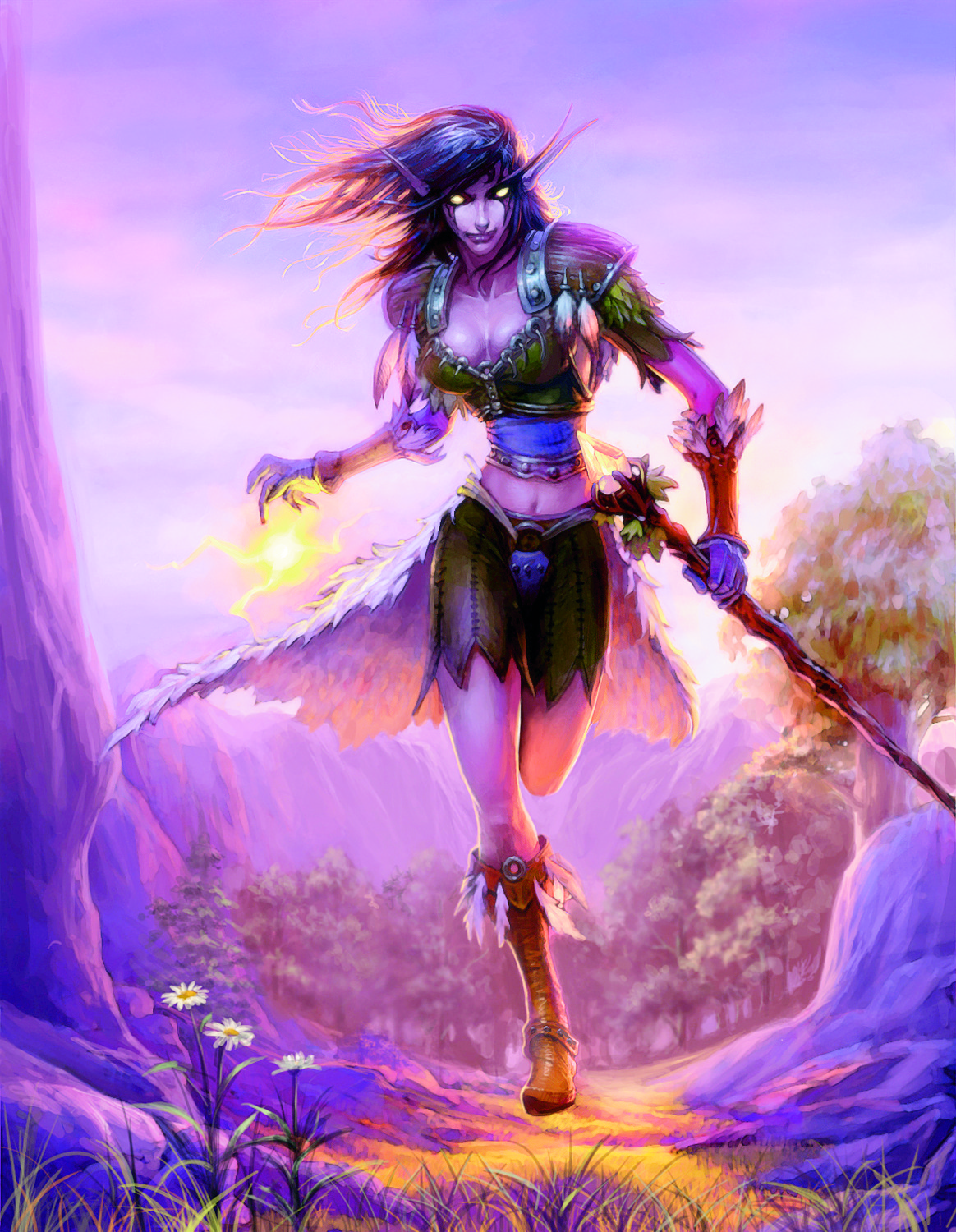 World of warcraft female night elf and  hentia gallery