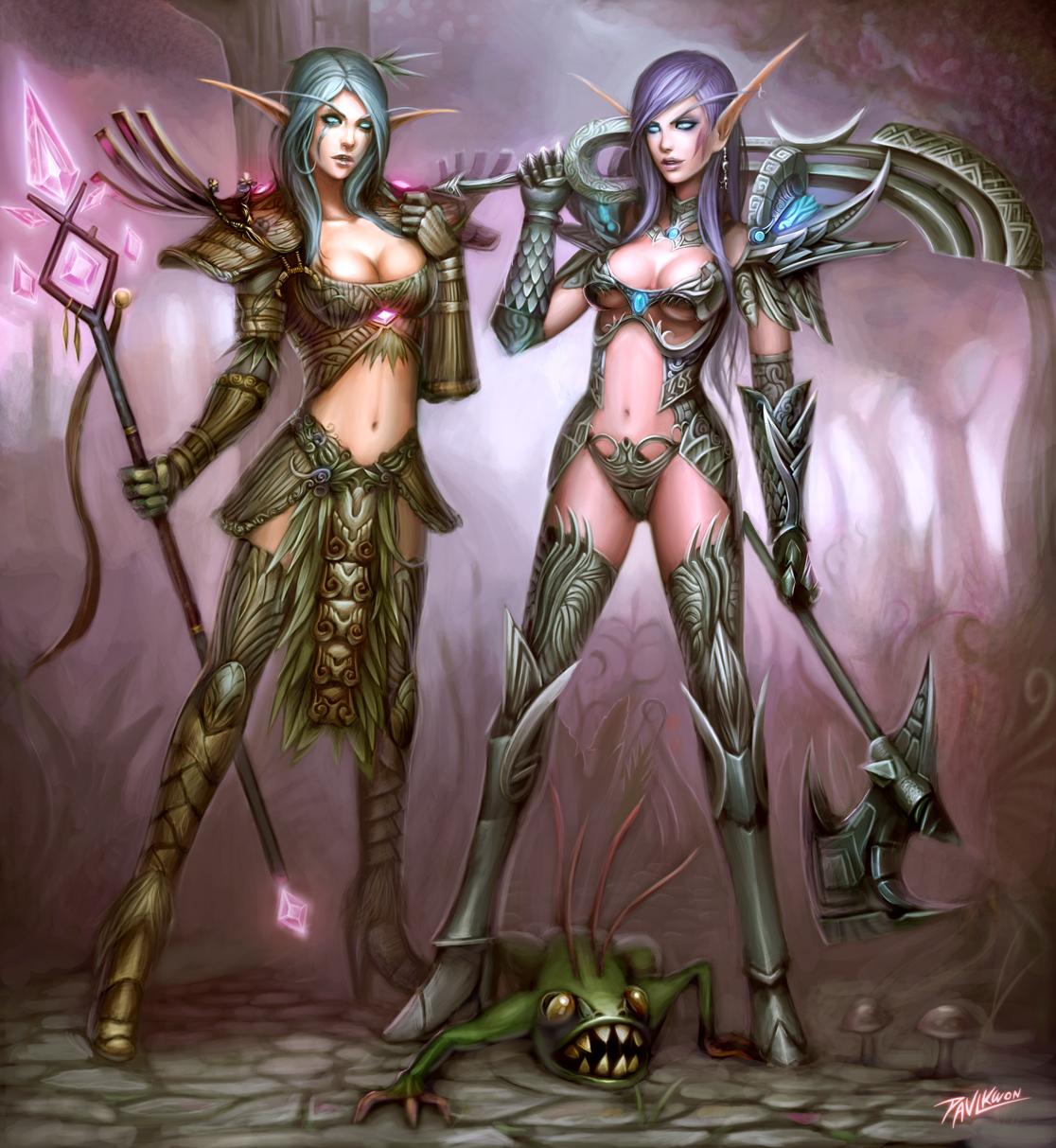 Lesbian elf toon pics xxx scenes