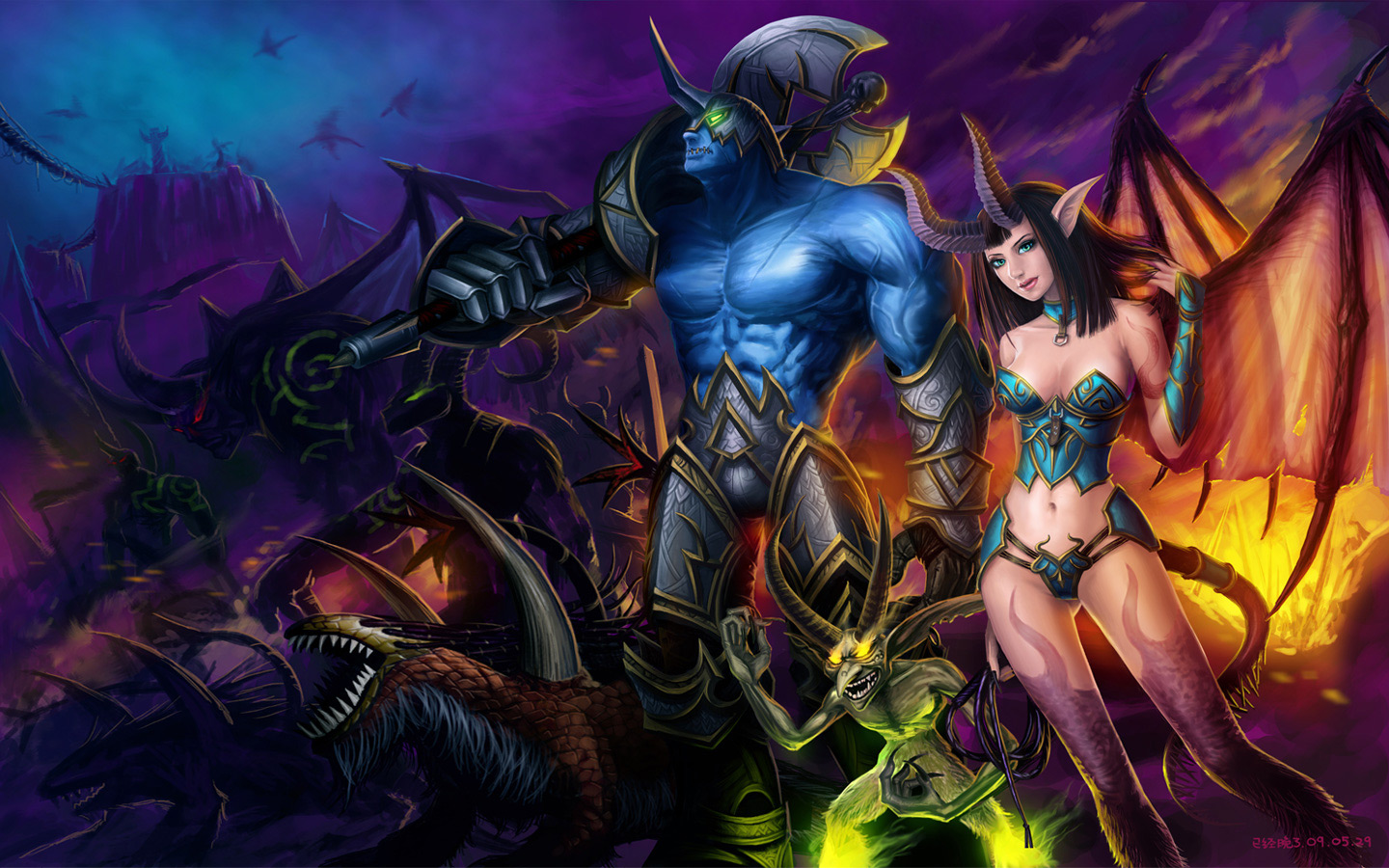 Troll and blood elf sex porncraft pron movie