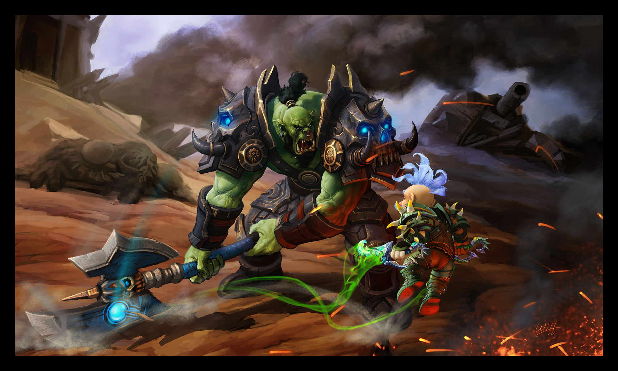 World of warcraft cataclysm orc speach porn image