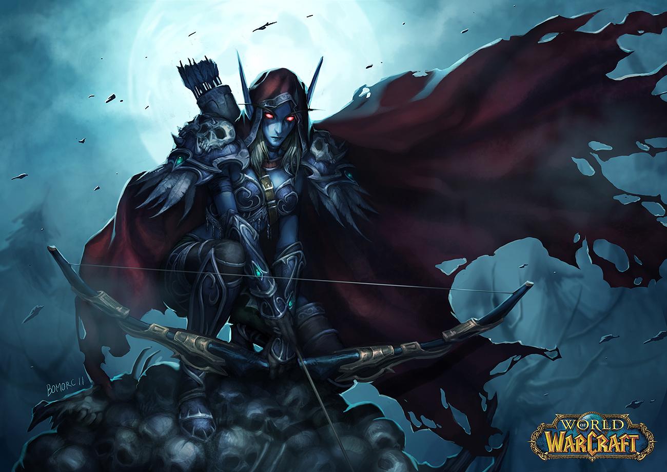 sylvanas windrunner legion wallpaper - photo #14