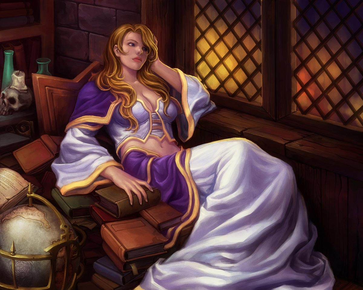 Download sleeping Lady Sylvanas and Jaina Proudmoore  erotic gallery