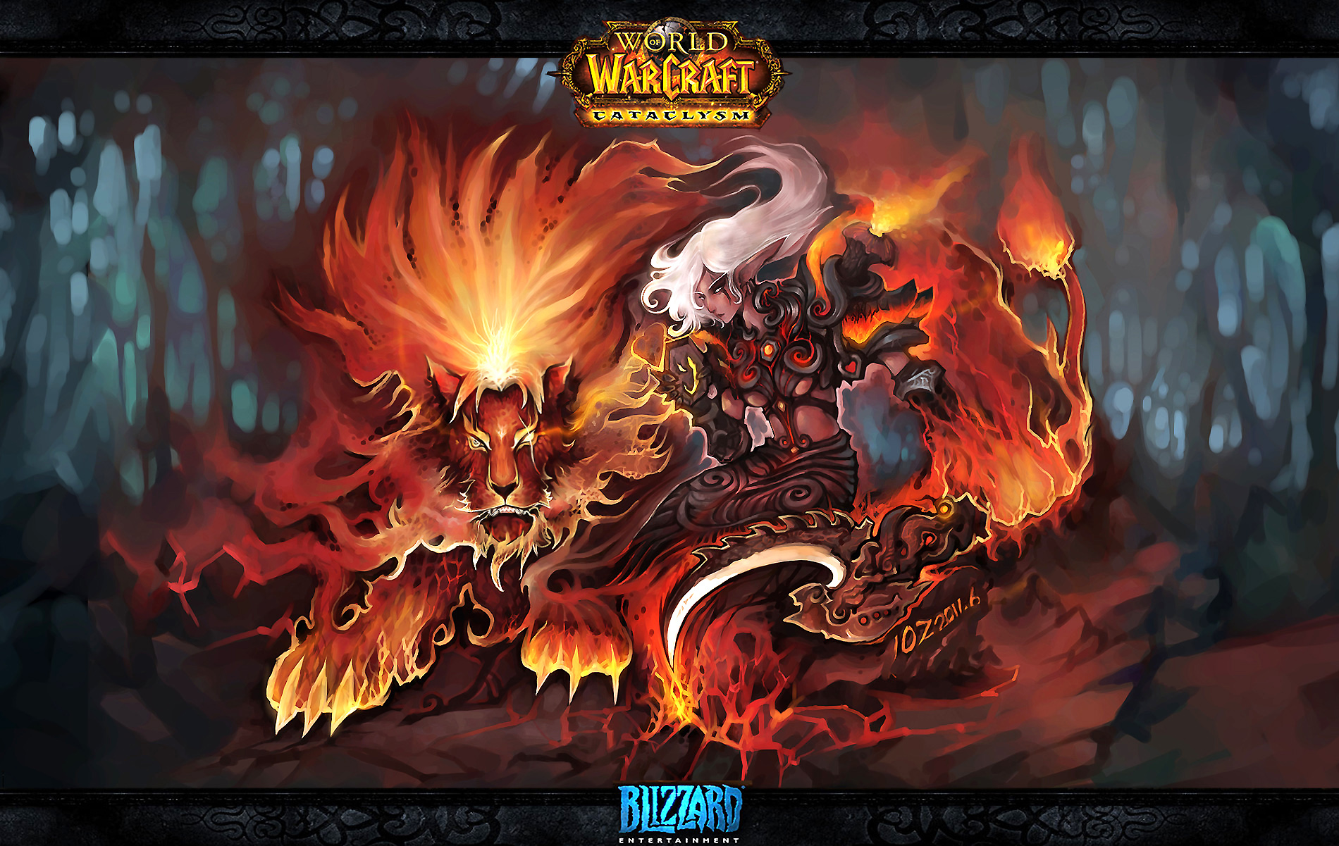 Goblin z World of Warcraft Noblegarden 800x480 - Wallpaper