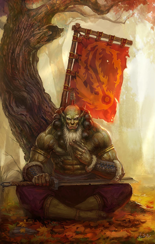 имя орка мастера меча из варкрафта 3 душе Девка дает