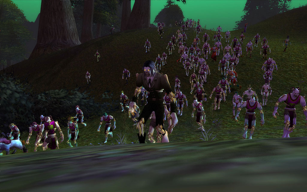 World of Warcraft: Zombie Invasion Day - video dailymotion