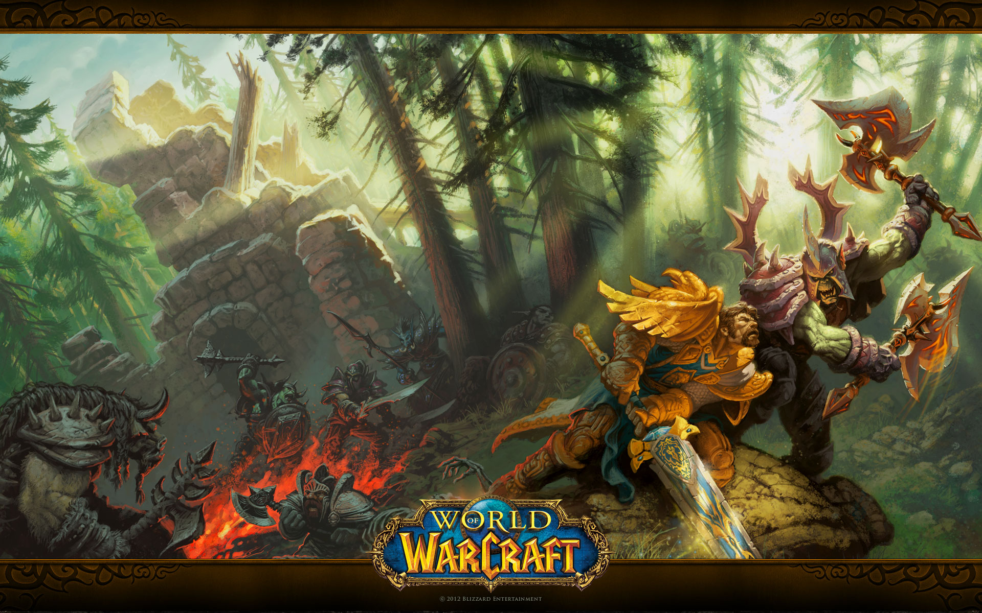 Oh Yeah World Of Warcraft Orcs Vs Humans