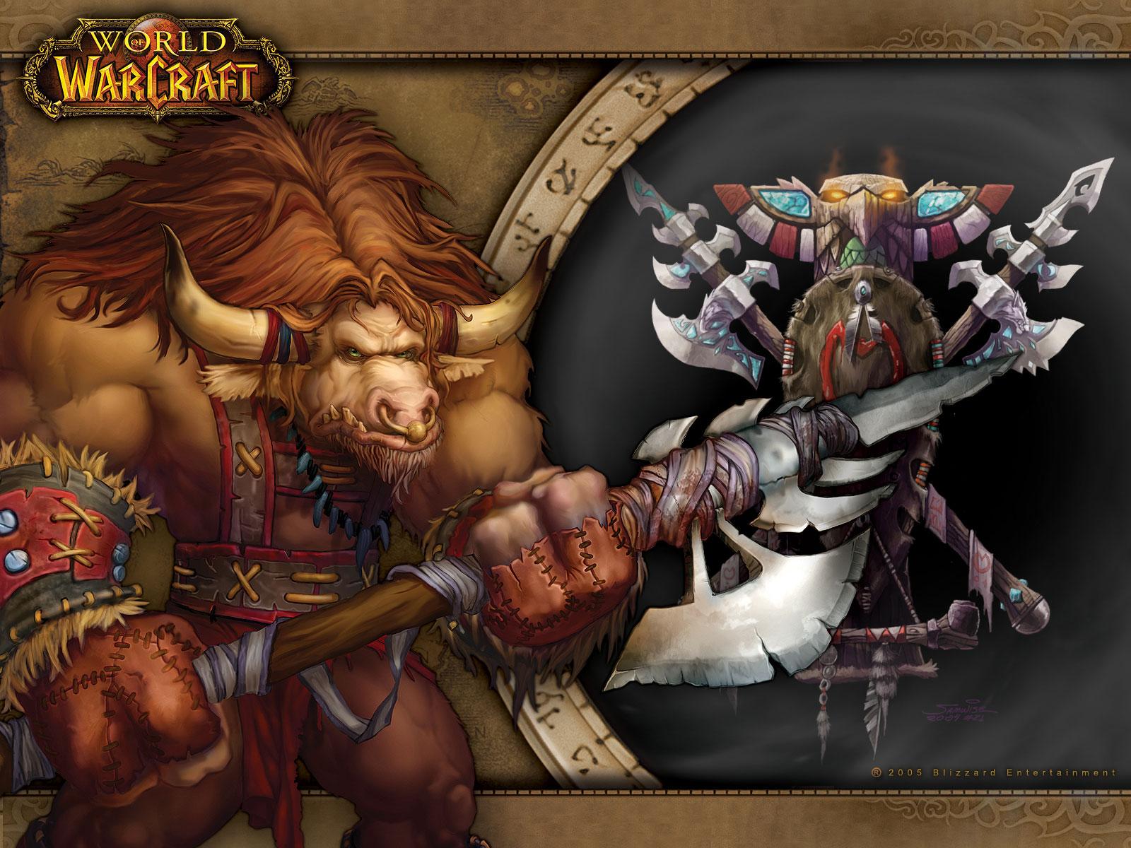 Wod new tauren character model 100 druid pvp youtube - Wow tauren wallpaper ...