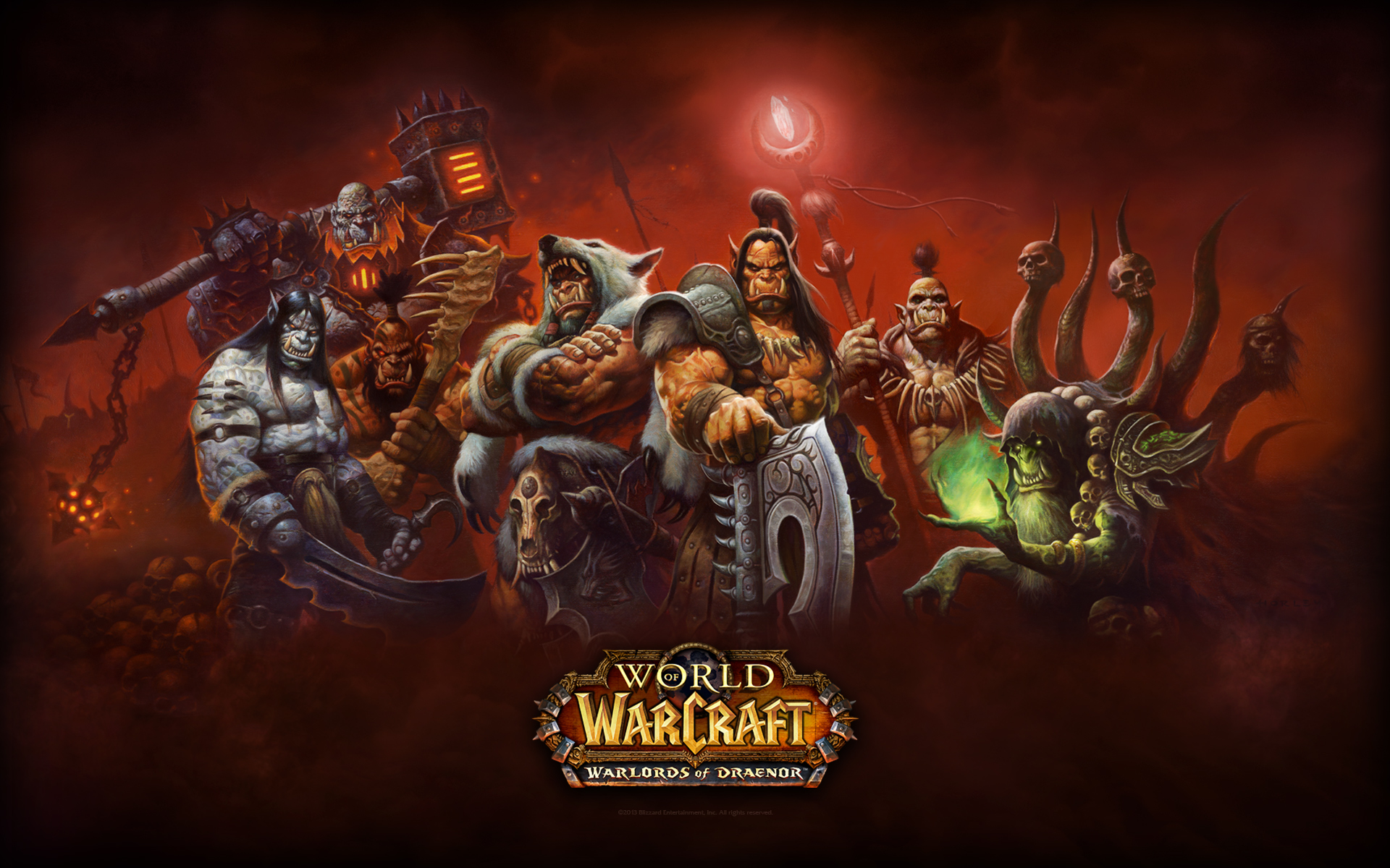 World of Warcraft Warlords of Dreanor