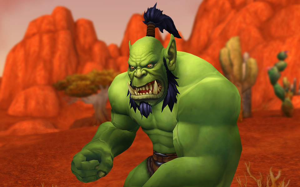 Orc Wow New Model New WoW Character Mode...