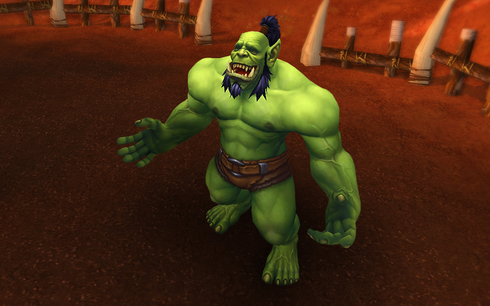 Orc Wow New Model World of Warcraft Warl...